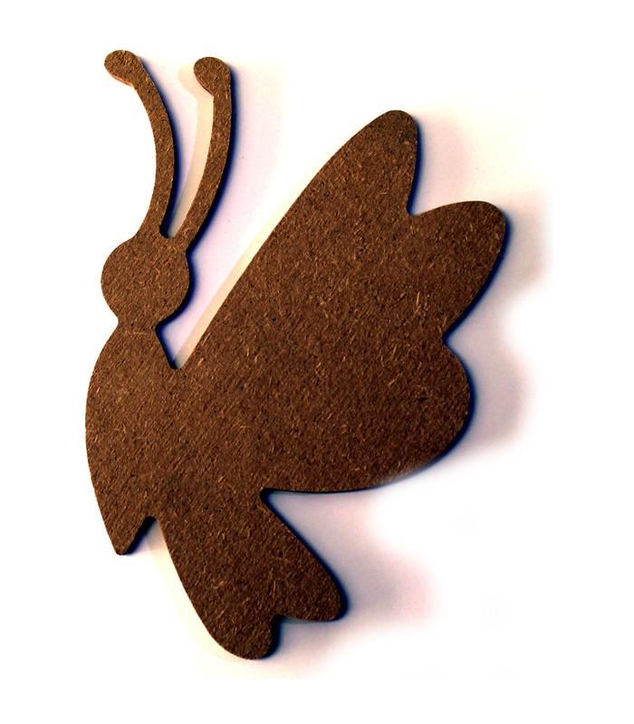 en bois > Petite taille  10 à 15 cm > Support en bois  Papillon ~ Petit Support En Bois