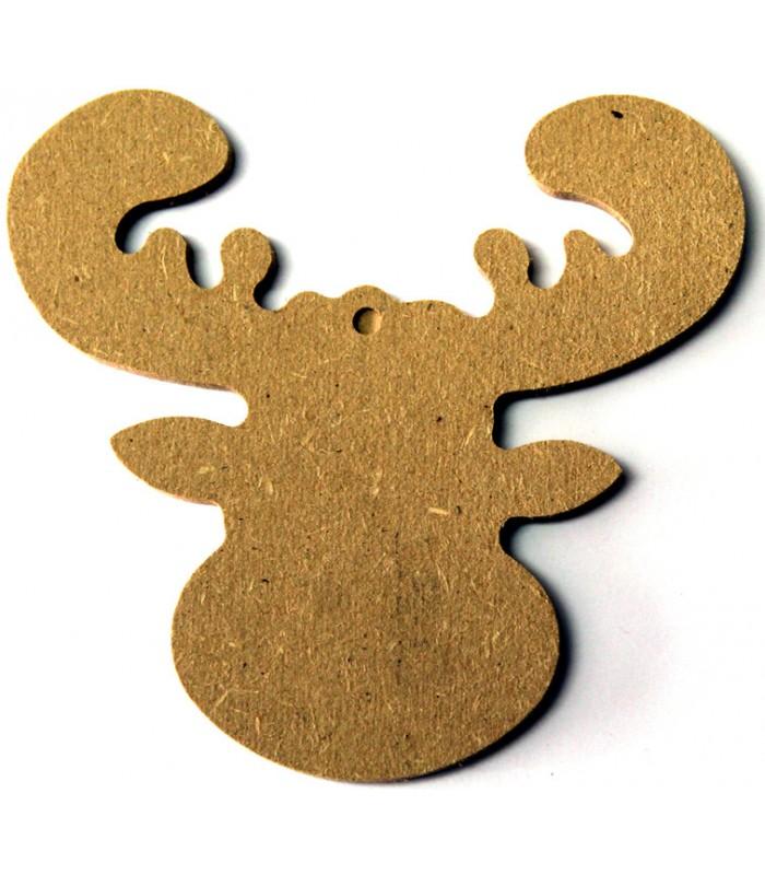 en bois > Petite taille  10 à 15 cm > Support en bois  Renne ~ Petit Support En Bois