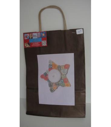 Kit mosaïque Enfant - bougeoir