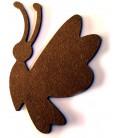 Support en bois - Papillon