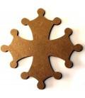 Support en bois - Croix du Languedoc