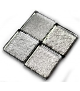 Carrés de Verre Metalisés